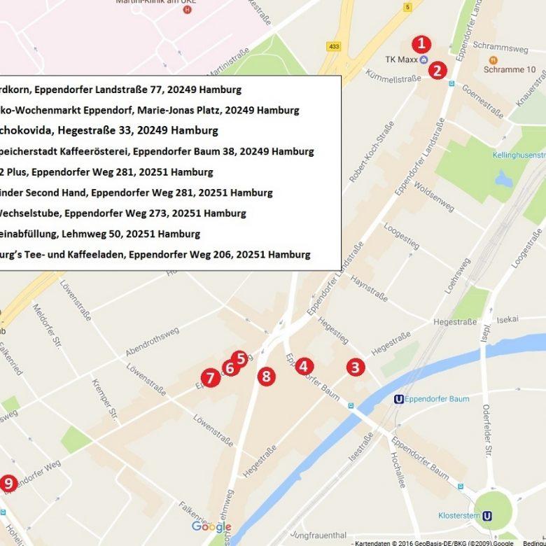 Zero Waste Shopping rund um Hamburg-Eppendorf